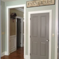 Inside Door Painting Ideas