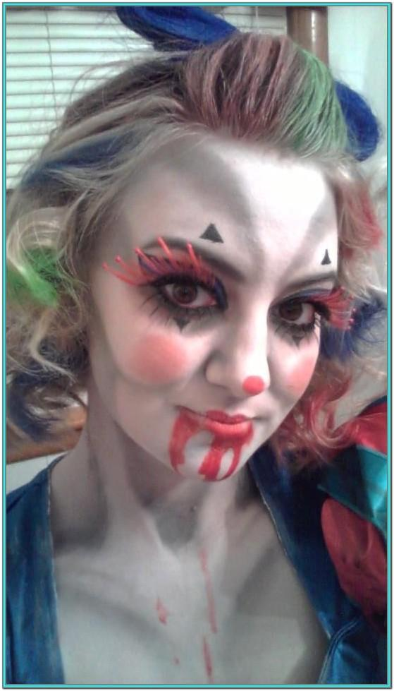 killer clown face paint ideas