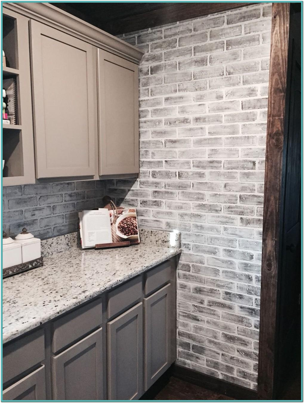 Kitchen Brick Wall Painting Ideas