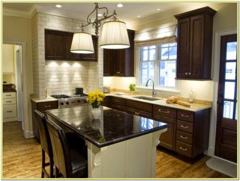 Kitchen Wall Paint Ideas With Dark Cabinets