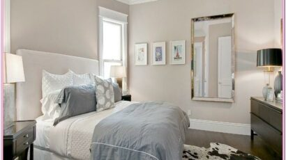 Light Gray Paint Bedroom Ideas
