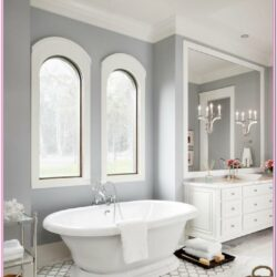 Light Grey Bathroom Paint Colors