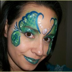 Little Mermaid Face Painting Ideas