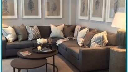 Living Room Paint Color With Brown Furniture