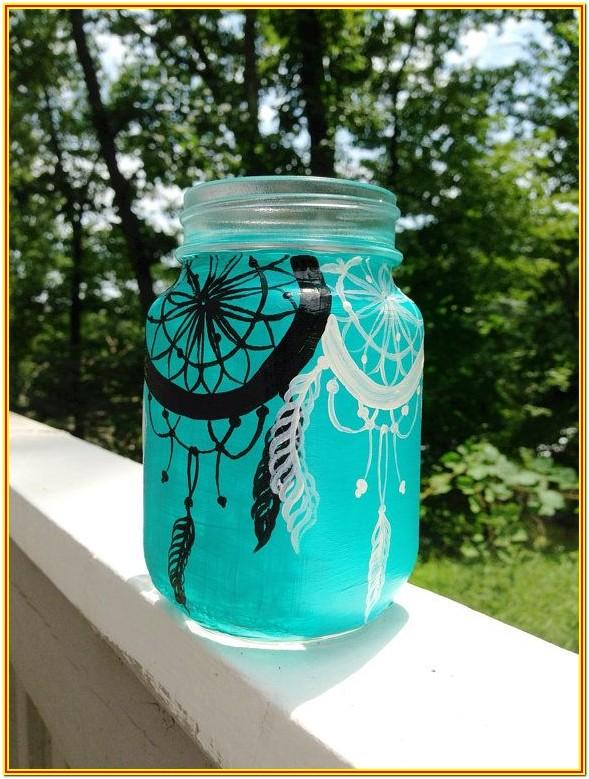 Mason Jar Painting Ideas