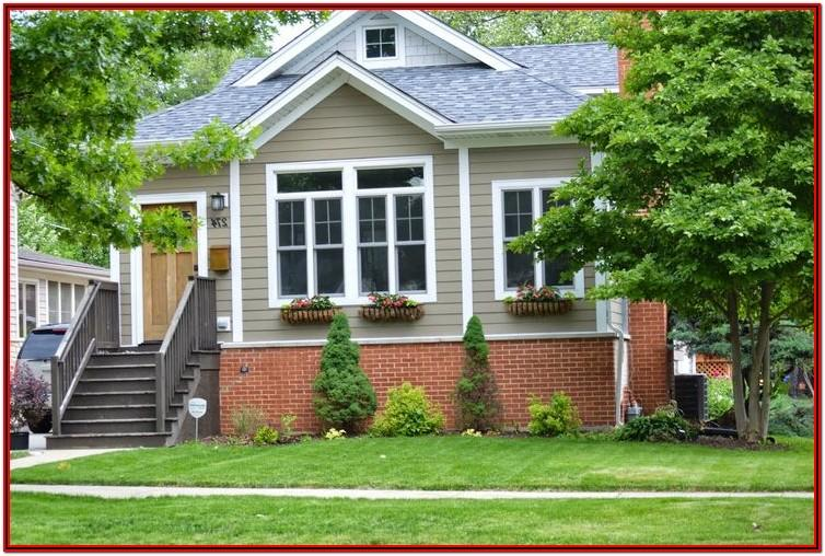Matching Exterior Paint Colors With Orange Brick