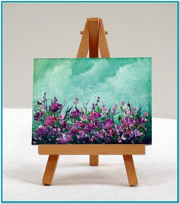 Mini Canvas Acrylic Painting Ideas