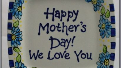 Mothers Day Pottery Painting Ideas