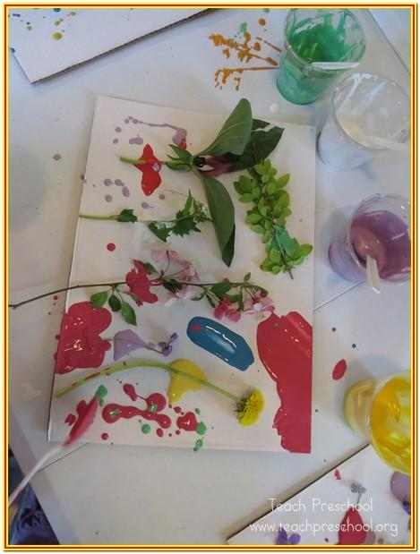 Nature Painting Ideas For Preschoolers