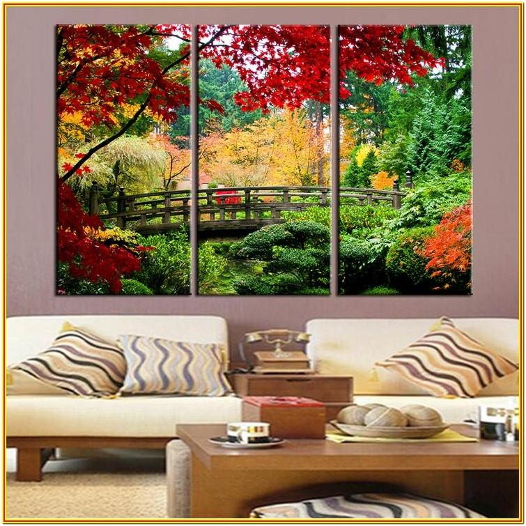 nature wall painting ideas