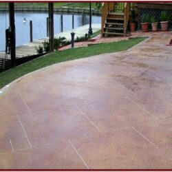 Outdoor Concrete Paint Ideas