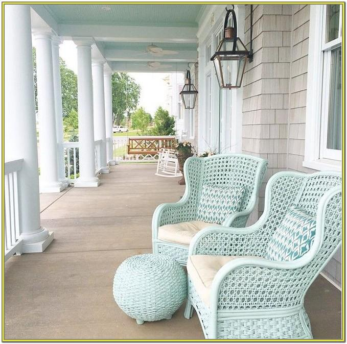 outdoor furniture paint color ideas
