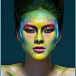 Outer Space Face Painting Ideas