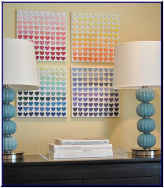 Paint Chip Ideas For Toddlers