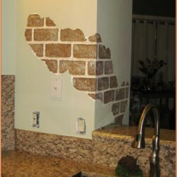 Painted Brick Backsplash Ideas