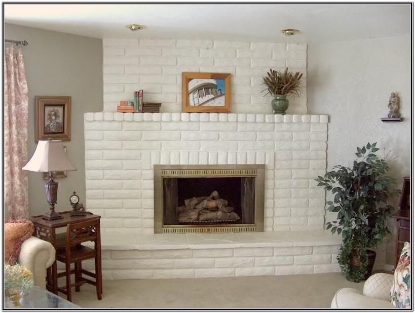 Painted Chimney Ideas