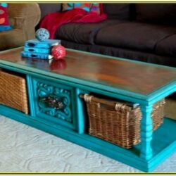 Painted Coffee Table Ideas Pinterest