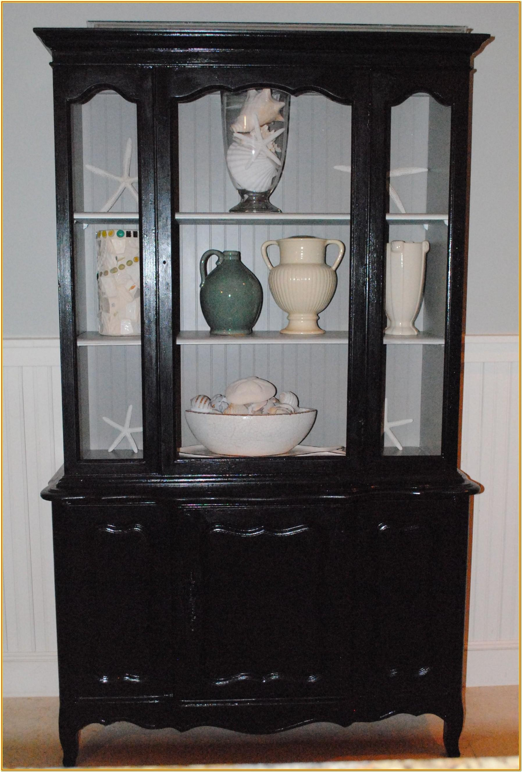 Painted Corner Hutch Ideas