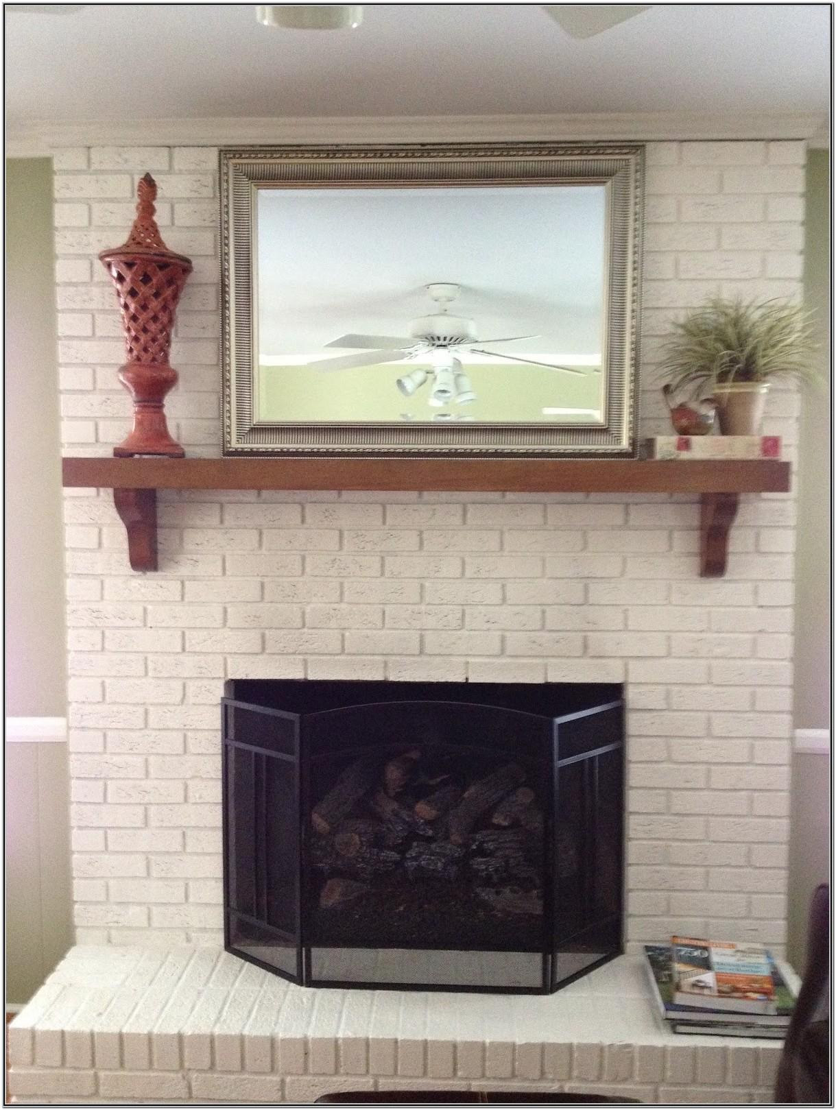 Painted Fireplace Ideas Photos
