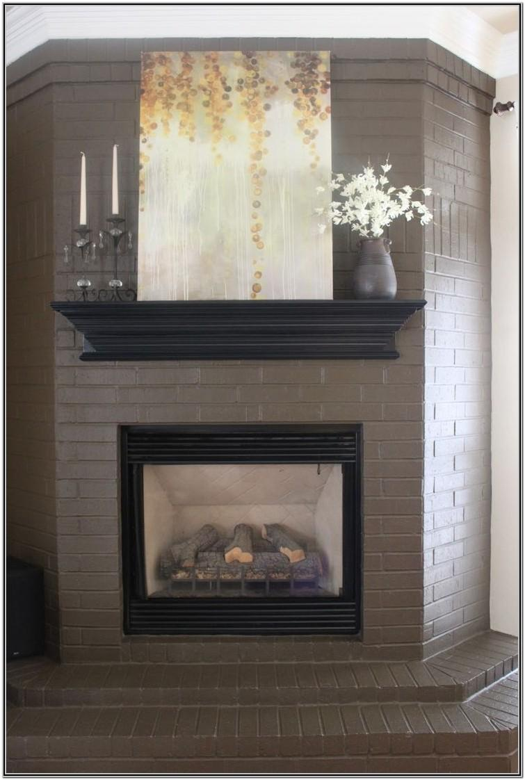 Painted Fireplace Ideas Pinterest