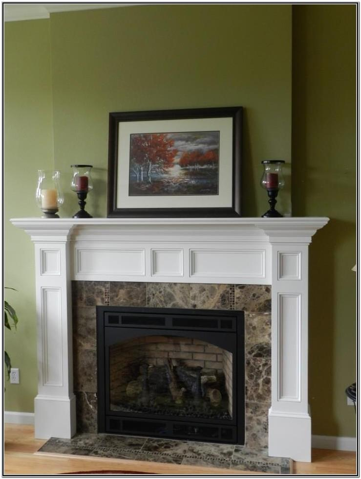 Painted Fireplace Mantel Ideas