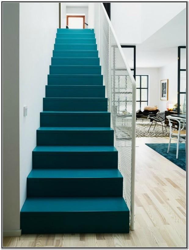 Painted Interior Stairs Ideas