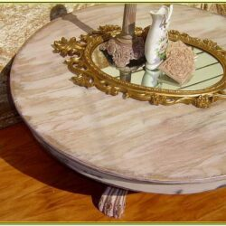 Painted Round Coffee Table Ideas