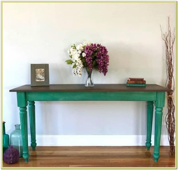 Painted Tables Ideas