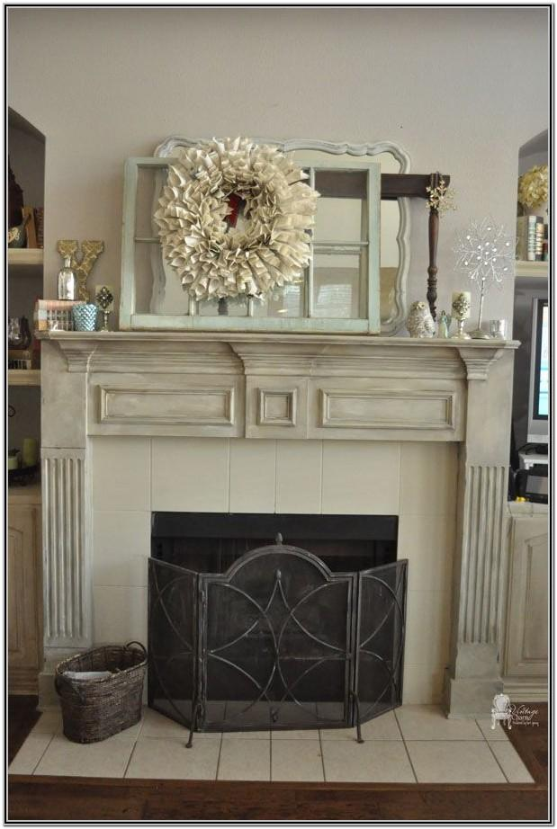 Painted Wood Fireplace Ideas