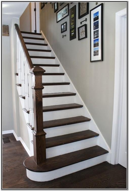 Painted Wooden Stairs Ideas