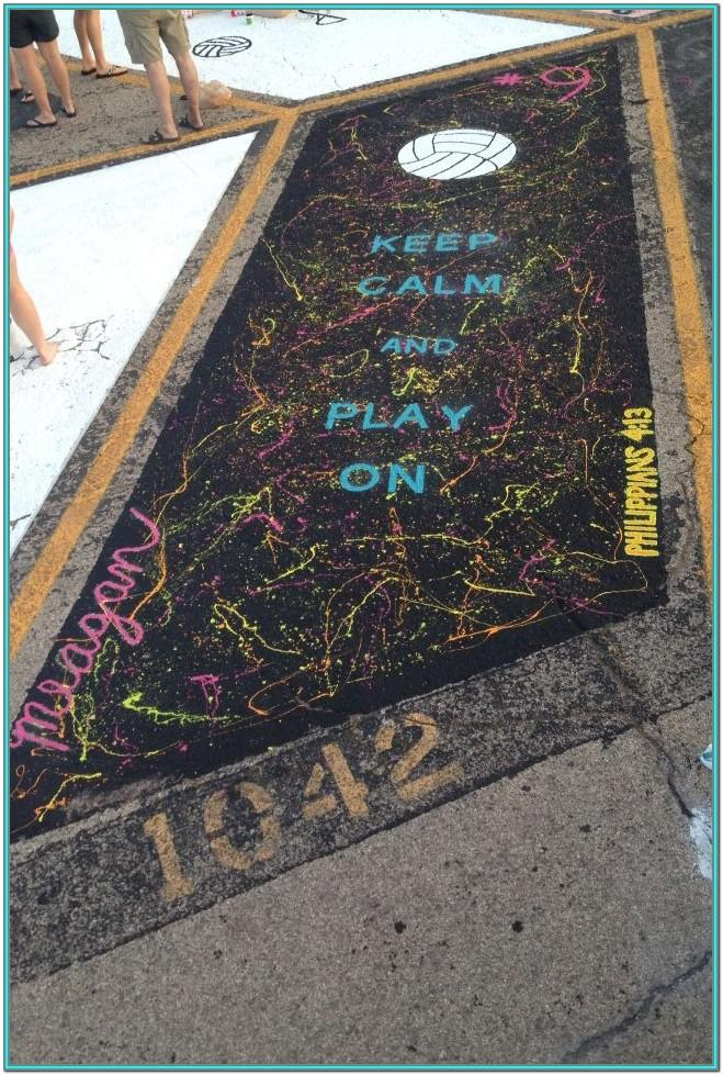 Parking Space Painting Ideas