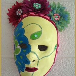 Plaster Mask Painting Ideas