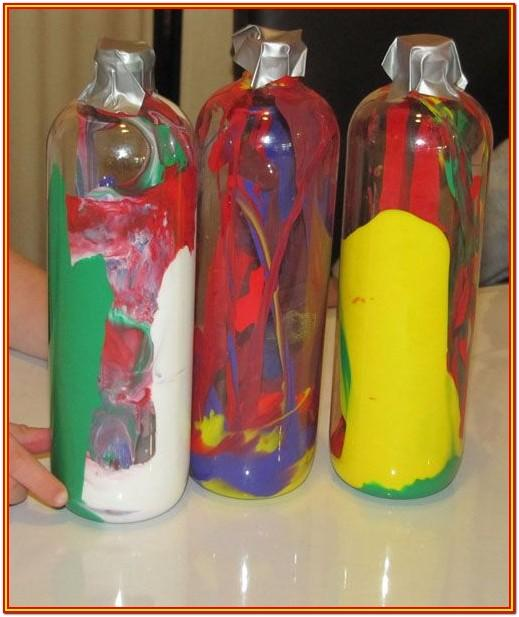 Plastic Bottle Painting Ideas