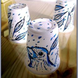 Plastic Cup Painting Ideas