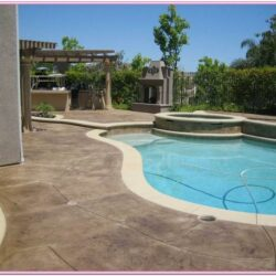 Pool Deck Paint Color Ideas