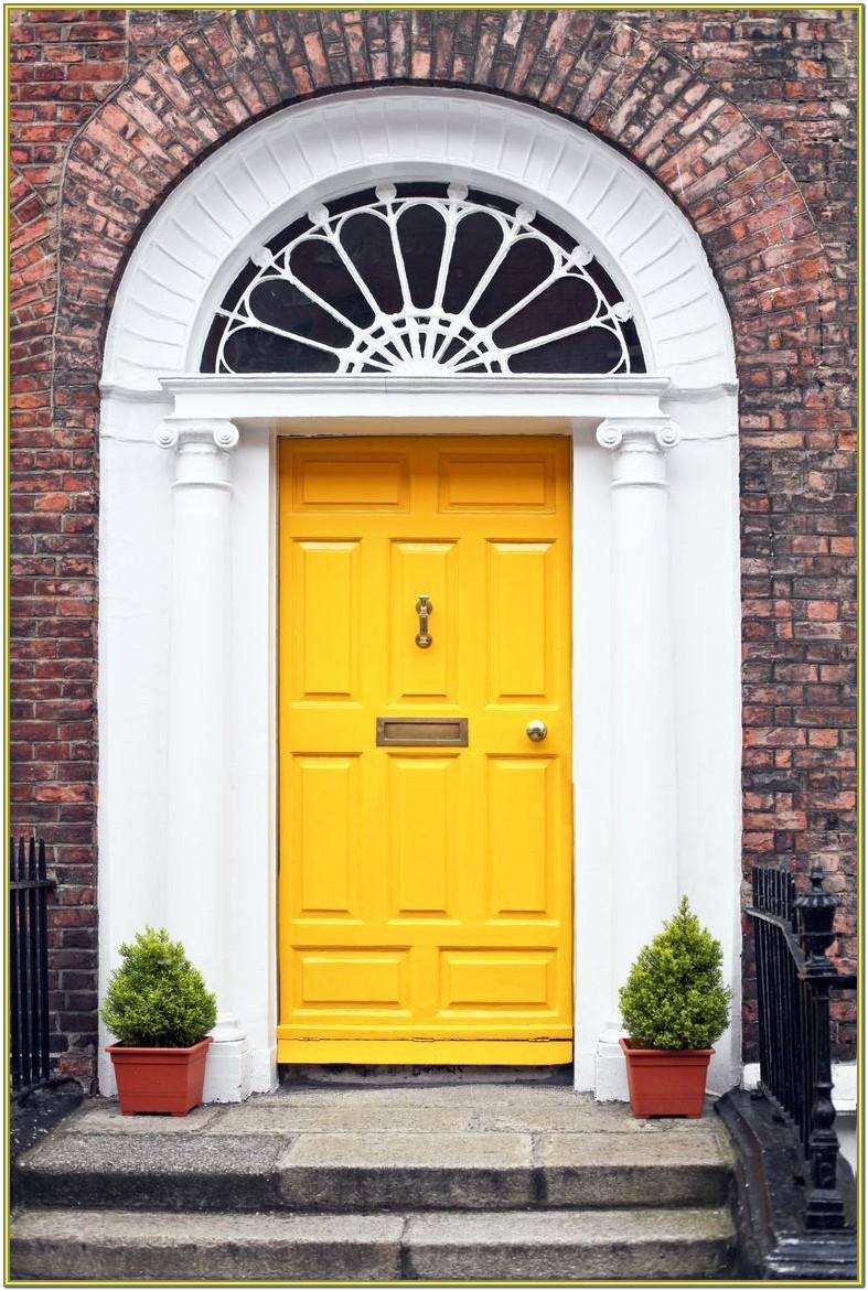 Popular Front Door Colours Uk
