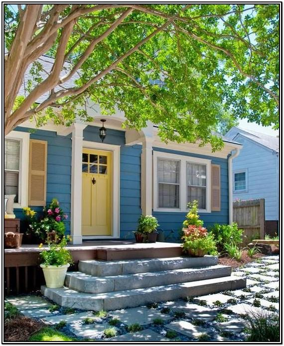 Popular Yellow Exterior Paint Colors