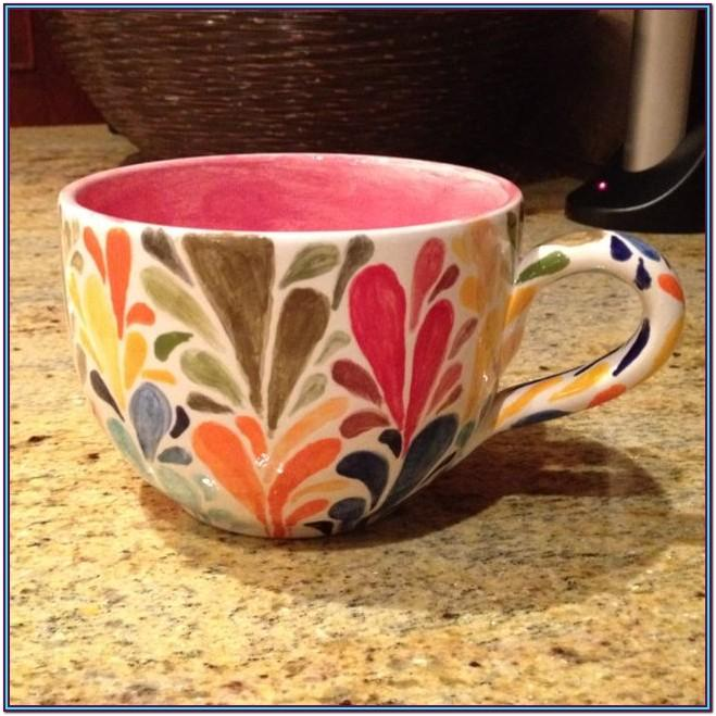 Pottery Painting Cup Ideas