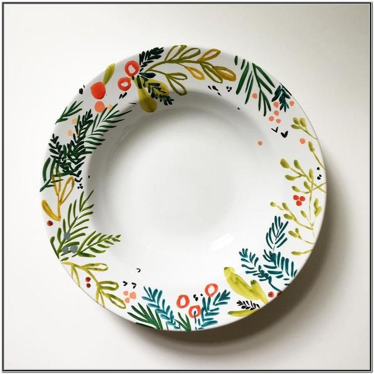 Pottery Painting Ideas For Bowls