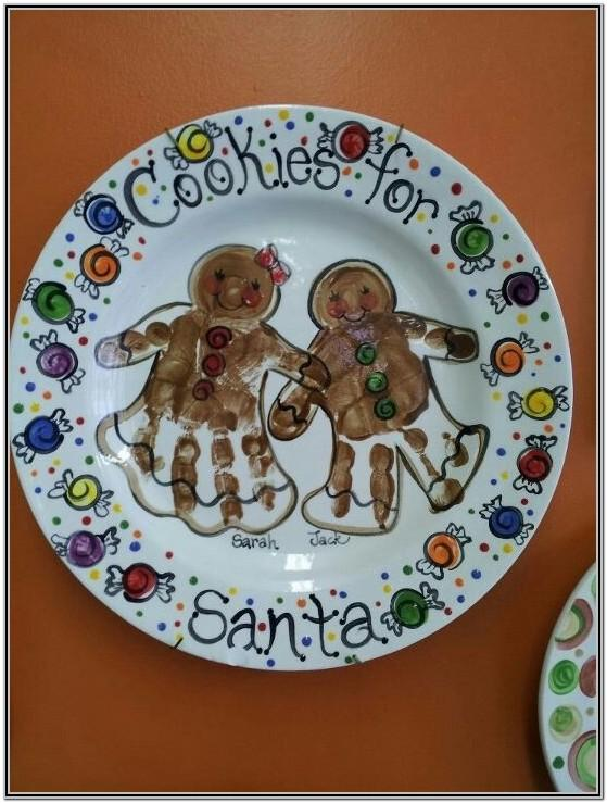 Pottery Painting Ideas Handprint