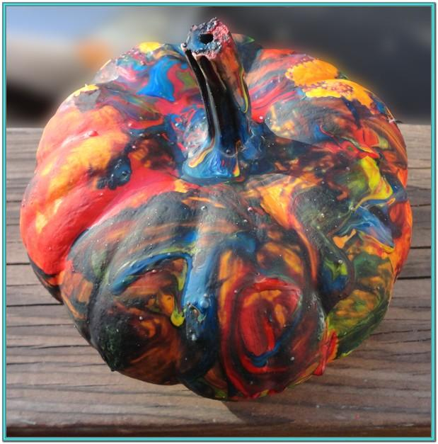 Preschool Pumpkin Painting Ideas