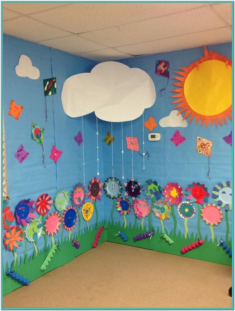 preschool wall painting ideas