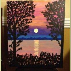Pretty Acrylic Painting Ideas