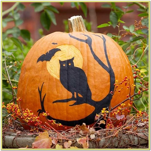 Pretty Pumpkin Painting Ideas