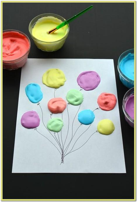 Puffy Paint Craft Ideas