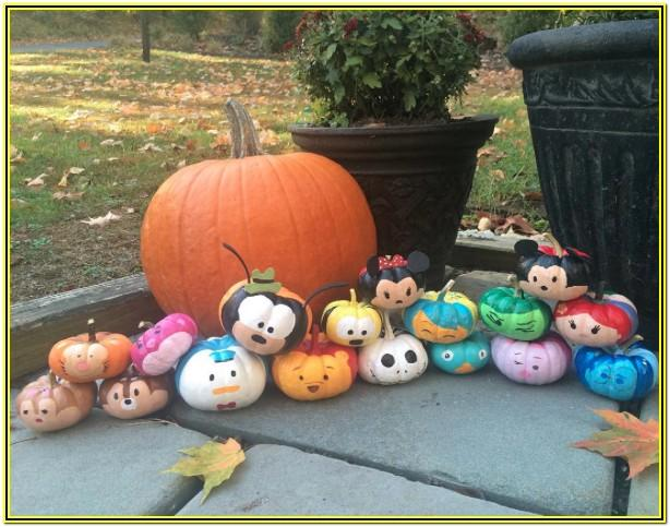 Pumpkin Painting Ideas Disney