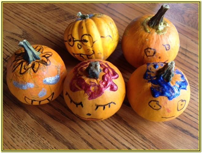 Pumpkin Painting Ideas For Preschoolers