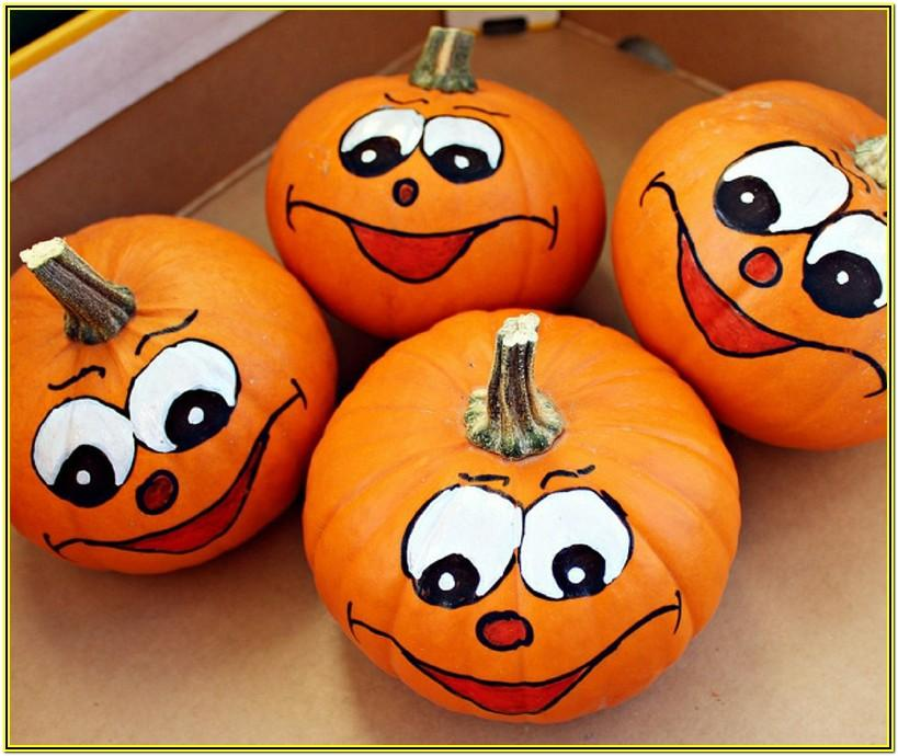 Pumpkin Painting Ideas For Toddlers