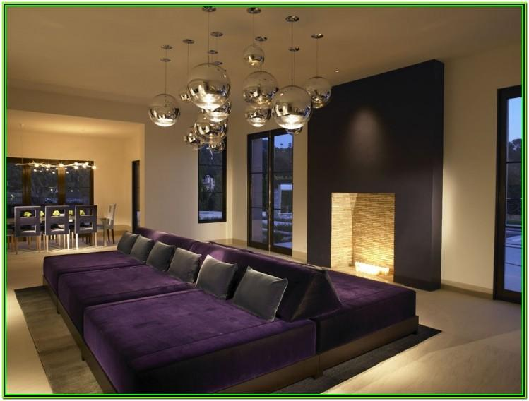 Purple And Gold Living Room Decor