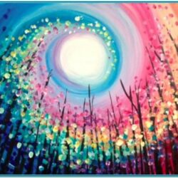 Rainbow Canvas Painting Ideas